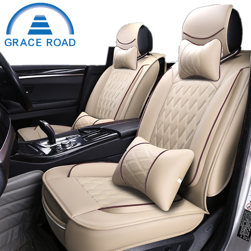 new stytle luxury microfiber leather car seat cover universal comfortable leather car seat. Black Bedroom Furniture Sets. Home Design Ideas