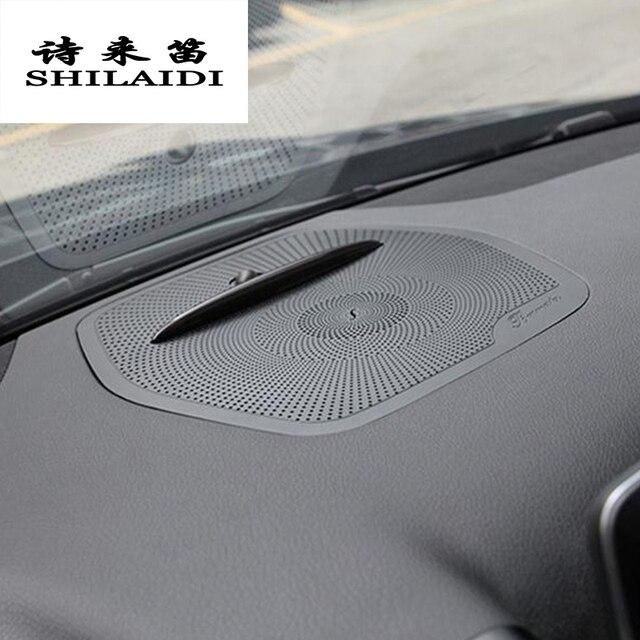 Auto Styling Audio Lautsprecher Dashboard Abdeckungen Aufkleber Trim Für Mercedes Benz Gle W166 Ml Gl Gls X166 Zubehör