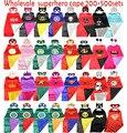 Envío libre de DHL Superman Superhero Capes 200-500 sets, Batman, Spiderman, Supergirl, Batgirl capas de los niños, traje de los niños