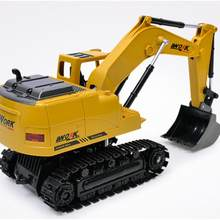 LeadingStar RC Graafmachine 15CH 2.4G Afstandsbediening Construeren Truck Crawler Digger(China)