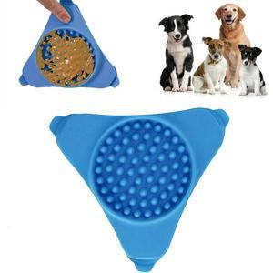 Креативная присоска для домашних животных, приспособление для ванны, настенный Дозирующий коврик, коврик для купания собак, обучающая силиконовая чашка для отвлечения