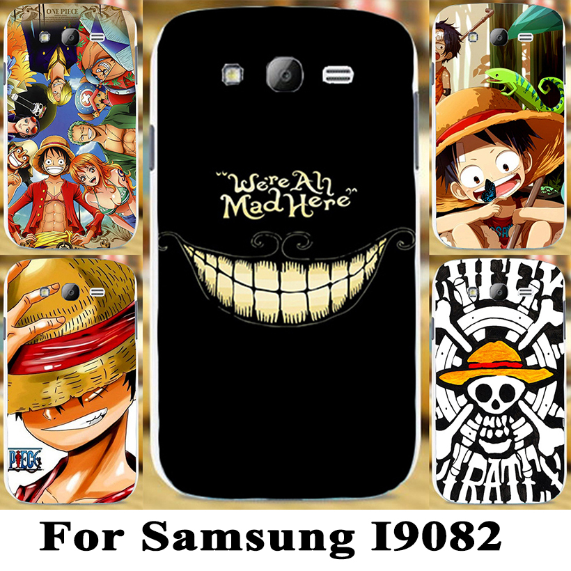 TAOYUNXI Soft Hard Plastic Cute Cartoon One Piece Luffy OnePiece hard case cover for Samsung Galaxy Grand Neo i9082 i9060 i9080