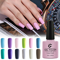 Free Shipping Soak Off UV Nail Vanish Professional LED Gel Nail Polish Manicure Nail Art Lacquer for Girls Women Pink Blue Green