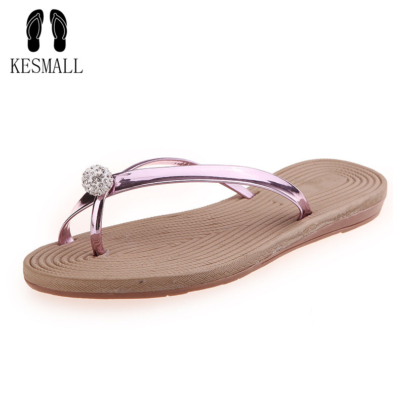 Fits smaller than usual Rhinestone Woman Roman Sandals Flat With Summer Shoes Beach Bohemia Beading ElasticBand Flip Flops WS18 ws shoes ws002awpsm12 ws shoes