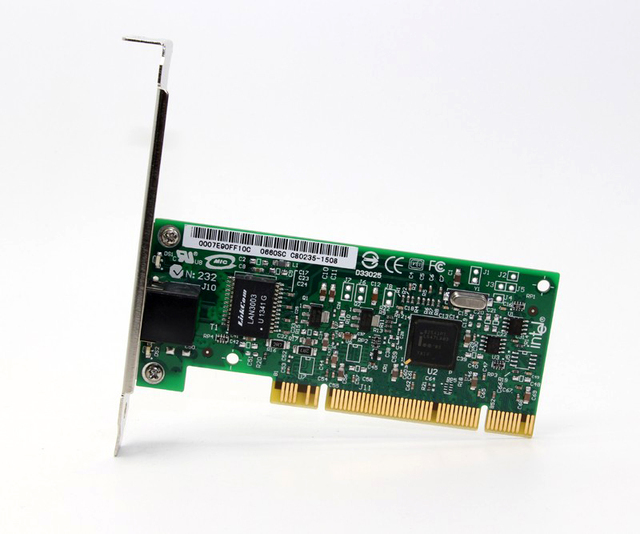 Pwla8391gt pro/1000 gt chipset da placa de adaptador de servidor pci desktop para intel 82541pi