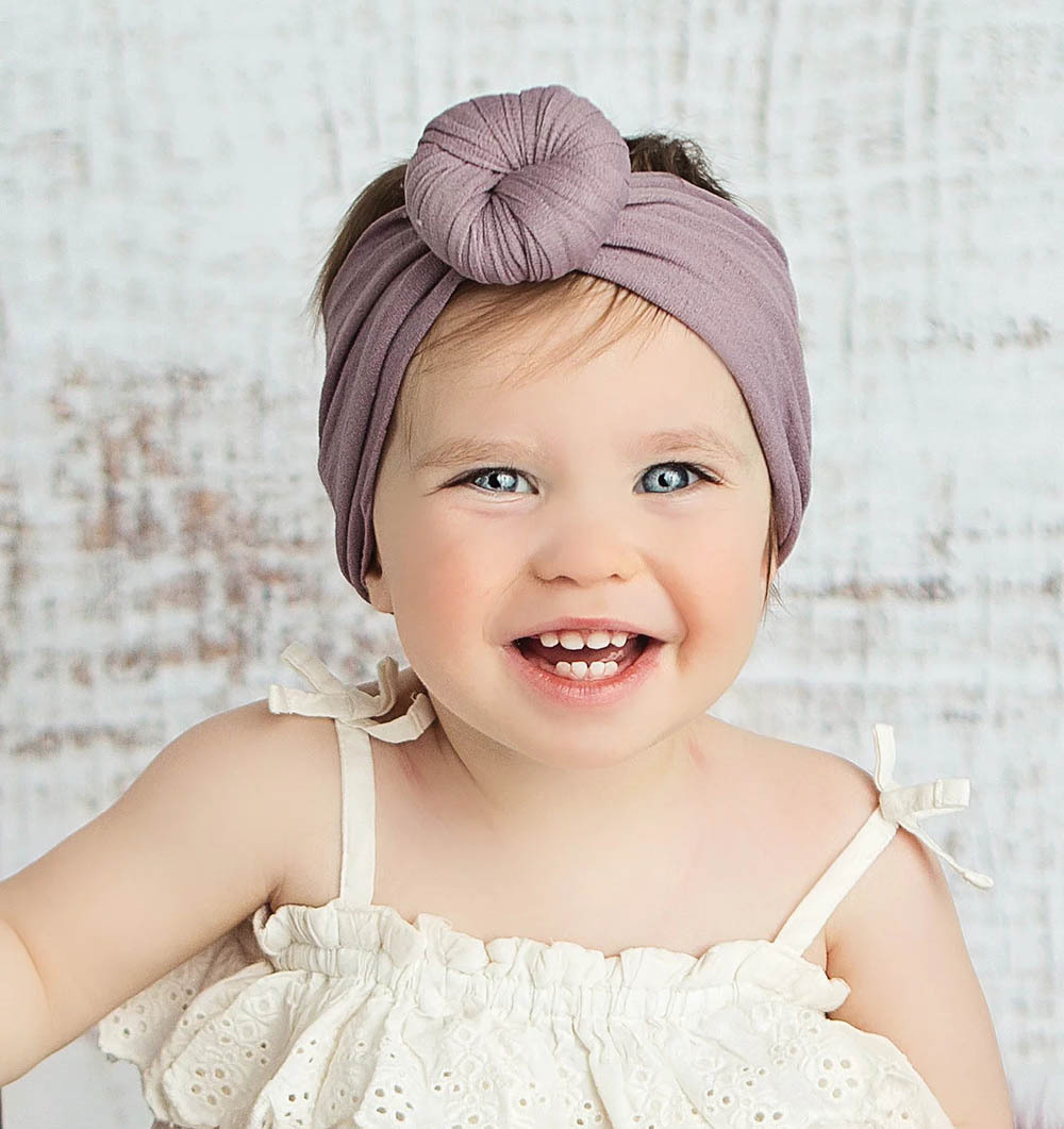 1Pc Cute Baby Headband Toddler Infant Baby Girl Headbands Stretch Hairband Headwear Baby Hair Accessories HC19068 in Hair Accessories from Mother Kids