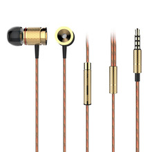 PLEXTONE X53M Magnet Movement Earphone Wired Control Eeaphones Metal Movement Headsets With Wheat 3.5mm Plug Sport Earphone