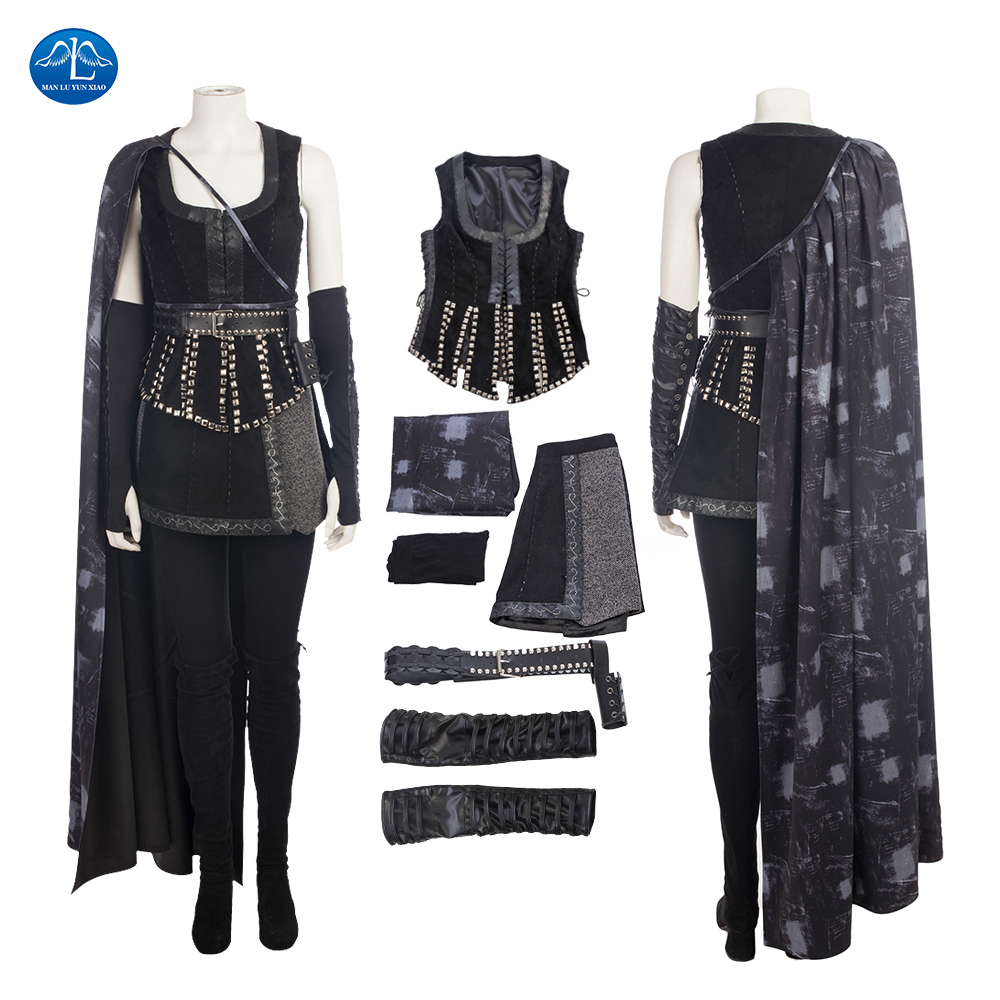 ManLuYunXiao Once Upon a Time Cosplay Costume Evil Queen Regina Mills Cosplay Battle Fancy Outfit Halloween Costumes For Women