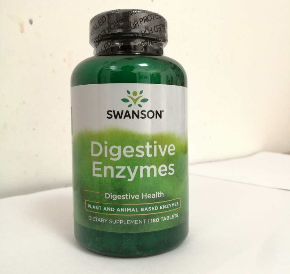 Free shipping digestive enzymes digestive health 180 pcs