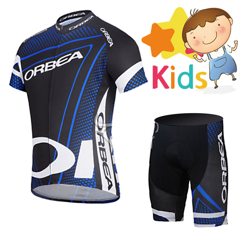 2018 Summer Children s Bicycle Wear Suit Pro Cycling Jersey Set for Kids  Breathable Quick Dry Ropa 5c7c96f63