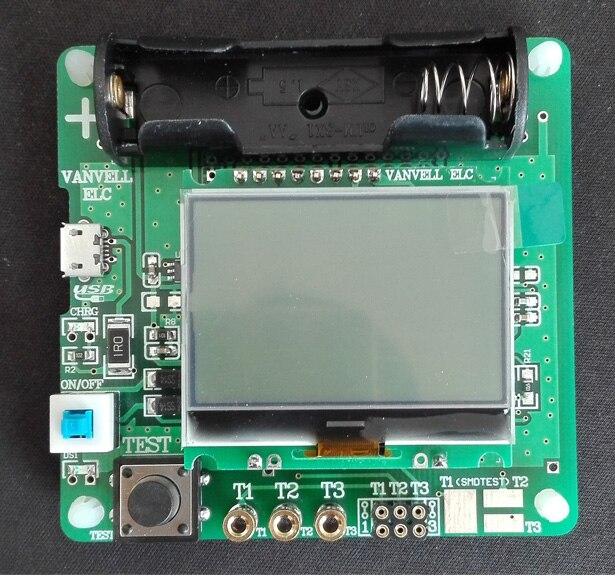 Pattern M8 transistor tester upgrade, M328 version, inductance capacitor ESR meter, multi-function tester, white light tb fma an peq 15 upgrade version led white light