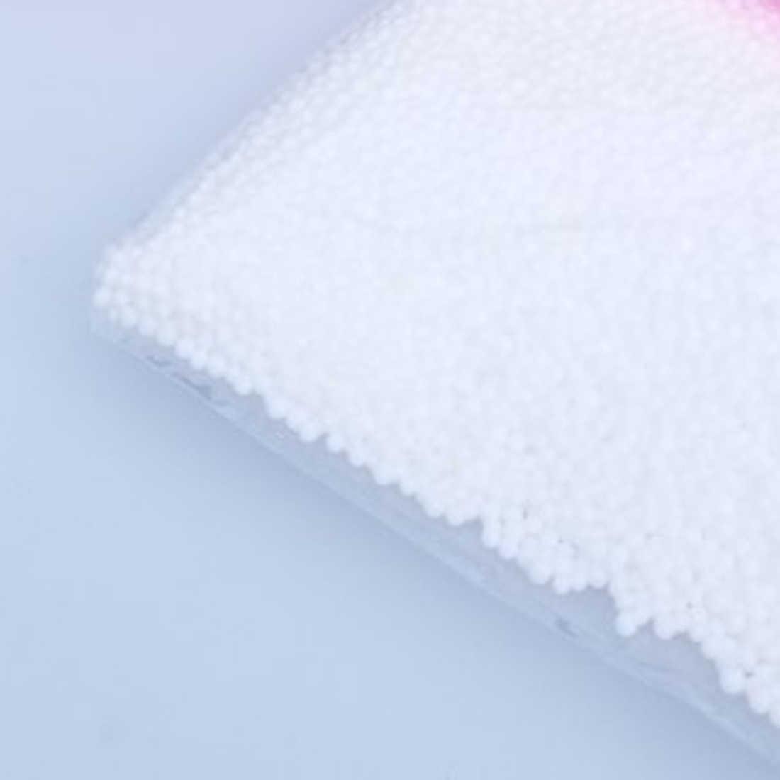 1 แพ็คสีขาวลูกปัดโฟมโพลีสไตรีนโฟมเตียงนอนหมอน Bean กระเป๋า chairsofa งานฝีมือ DIY ตกแต่ง