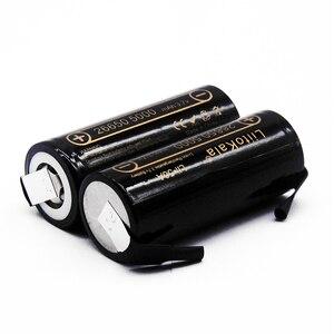 Image 2 - 2020 HK LiitoKala Lii 50A 3.7V 26650 5000mah o dużej pojemności 26650 50A akumulator litowo jonowy do latarki led + diy nikiel