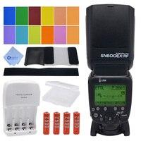 Mcoplus MT600EX RF 2 4G Wireless Build In Radio E TTL GN60 Master Slave Flash HSS