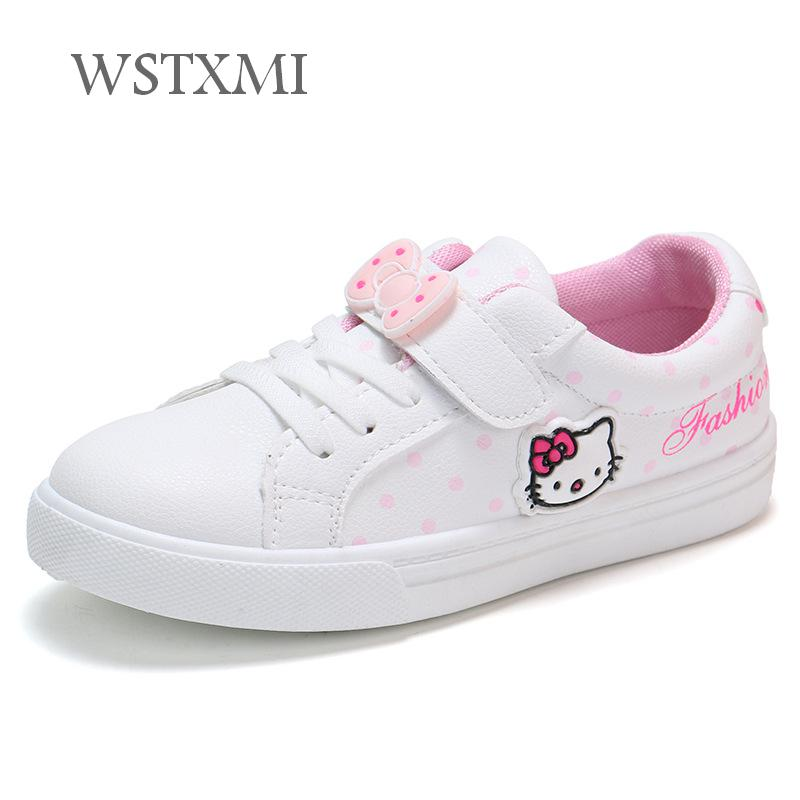 Spring Autumn Girls Casual White Shoes Fashion Sneakers Children Flat Shoes Waterproof Leather Cute Girls Sports Shoes for KidsSpring Autumn Girls Casual White Shoes Fashion Sneakers Children Flat Shoes Waterproof Leather Cute Girls Sports Shoes for Kids