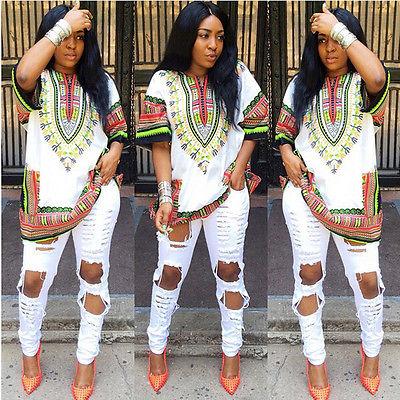 40f4fd29d86 Women Fashion Traditional African Print Half Sleeve Cocktail Club Mini Dress  Women Summer Dress vestidos