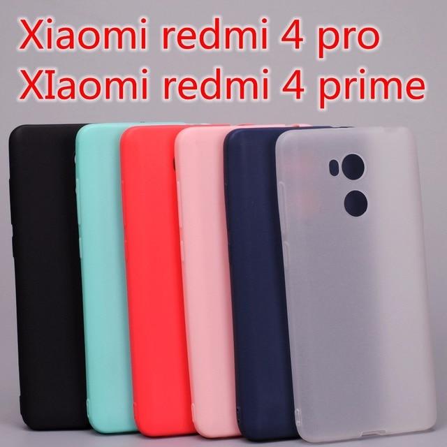 Xiaomi redmi 4 pro case Xiaomi redmi 4 prime case cover Silicone TPU case for Xiaomi redmi 4 pro prime Ultra thin Solid colors