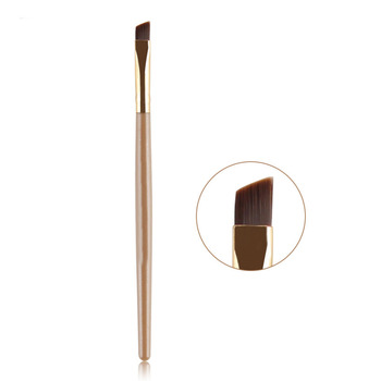 1Pcs professional eyebrow brush Nylon hair bevel Eyebrow Brush eye angled Makeup Brush single liquid eyeliner Cosmetics Tools