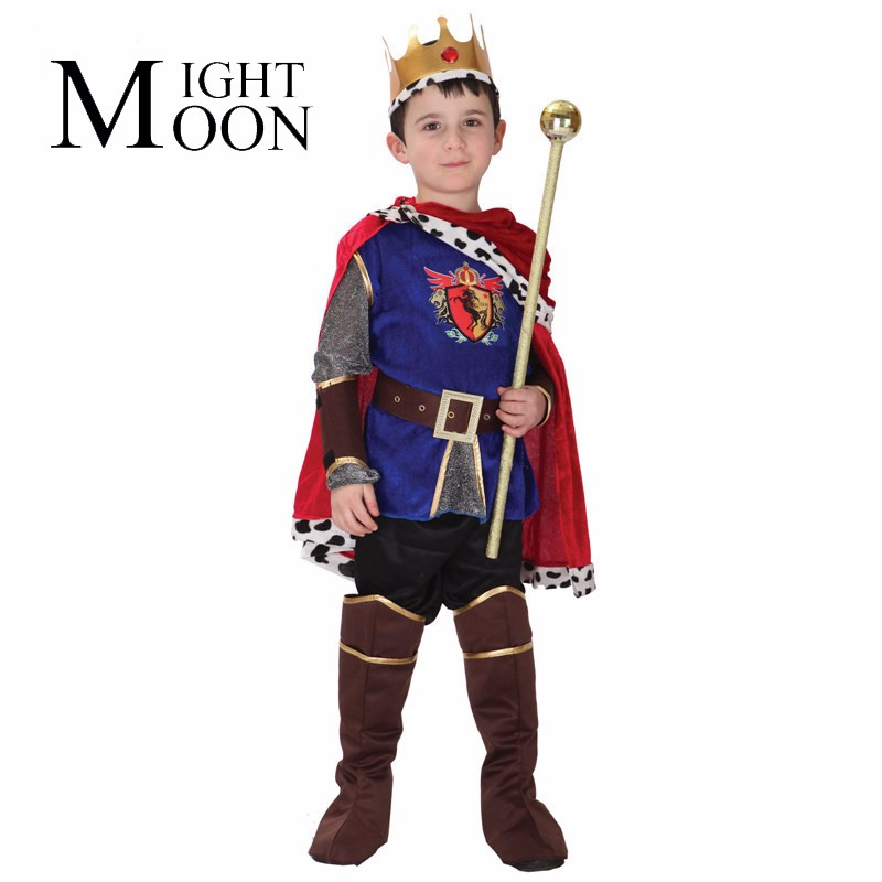 MOONIGHT Halloween Children's Play The King Warrior Costumes Stage Of Cosplay Costumes Prince Costumes