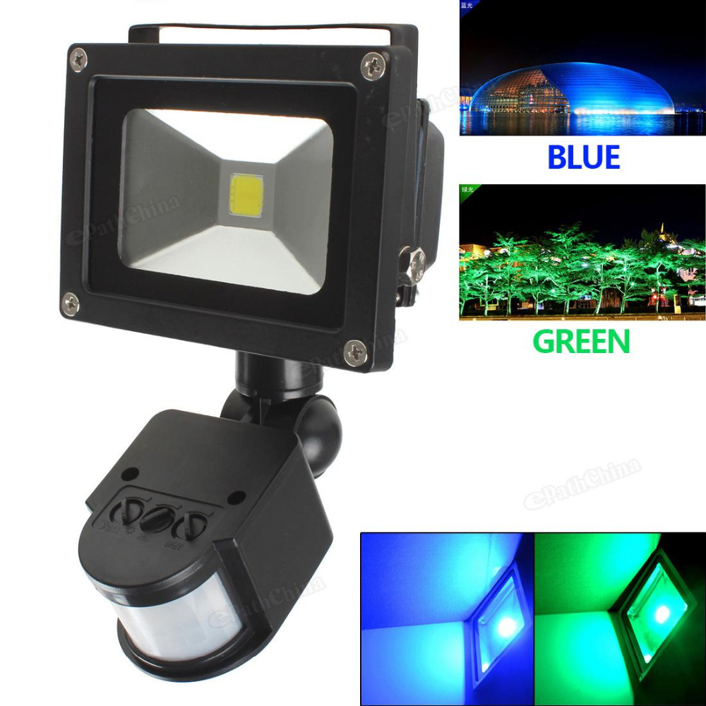 ⑧Водонепроницаемый IP65 20 Вт Светодиодный прожектор ...