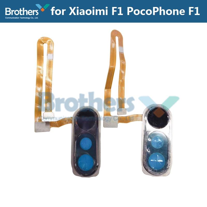 Fingerprint Flex Cable for Xiaomi PocoPhone F1 Home Button Sensor Flex Cable Ribbon for Xiaomi F1 Phone RepairReplacement PartsFingerprint Flex Cable for Xiaomi PocoPhone F1 Home Button Sensor Flex Cable Ribbon for Xiaomi F1 Phone RepairReplacement Parts
