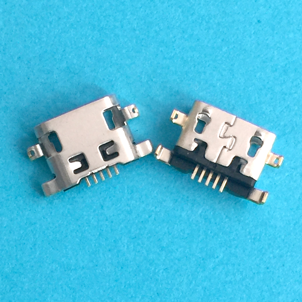 For <font><b>Alcatel</b></font> <font><b>6035R</b></font> Idol S 4033 4033D POP C3 micro usb charge charging connector plug dock socket charger port Repair Part image