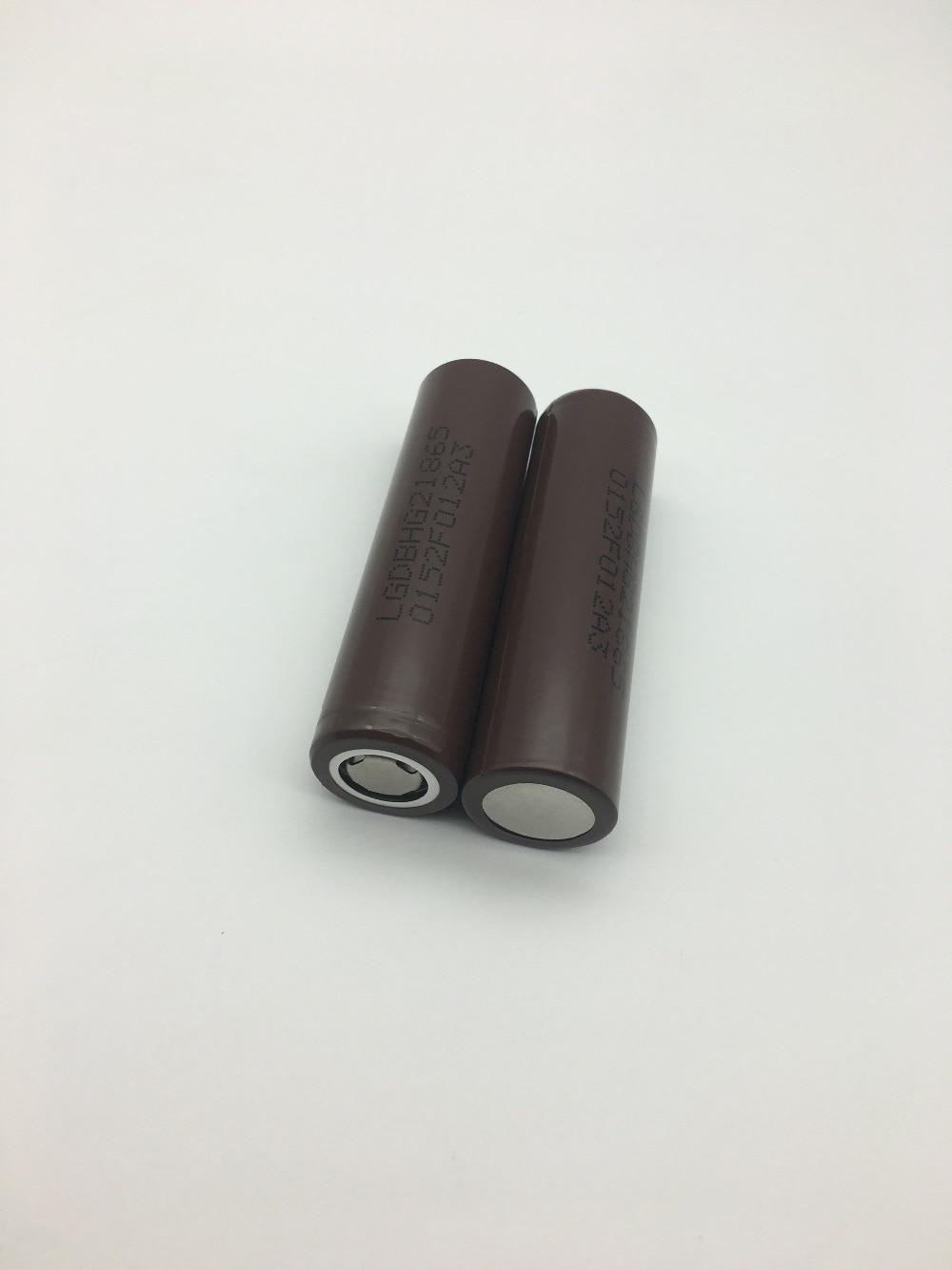 все цены на VariCore 100% New Original HG2 18650 3000mAh battery 18650HG2 3.6V discharge 20A, dedicated For LG E-cigarette Power battery онлайн