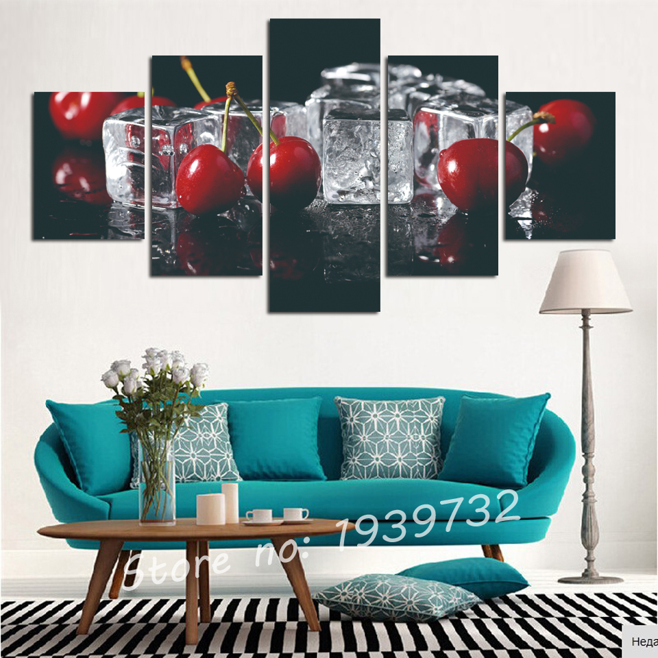 2016 New paintings for the kitchen fruit wall decor modern canvas ...