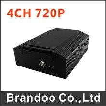 Hot sell DVR Black Box HD 4CH 720P Car Mobile HDD DVR