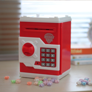 Creative Password Safe Atm Piggy Bank Money Box Toy Mini Safe Automatic Birthday Gift Xmas Gift the football game comes to coin money toy box pastic coin cases hidden safe kids piggy bank money toy game bank safe magic jbzq