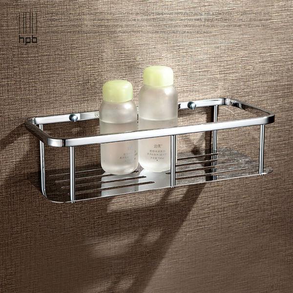 buluxe bathroom accessories corner shelf brass bath shelf chrome finished wall mounted