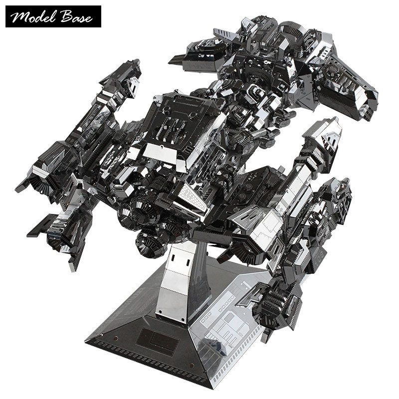 3D Puzzles Adult Diy Educational Toys Metal Model Teaser Kids Ultra-Precision Large Nuclear Warships Splicing Toys Puzzle 3d 3d puzzle diy assembling car toys justice dawn batman batmobile metal model creative gift diy educational kids toys