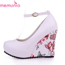 Fashion Ankle Strap 2016 High Wedges Platform Summer Pumps For font b Women b font Casual