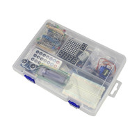 Smart Electronics Starter Kit Learning Kit With Dedicated Power Supply 9V 1A With Box For Arduino