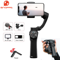 Snoppa Atom 3 Axis Handheld Gimbal Smartphone Stabilizer for iPhone X Gopro 6 7 Action Cam PK Smooth 4 DJI OSMO Mobile 2 Pocket