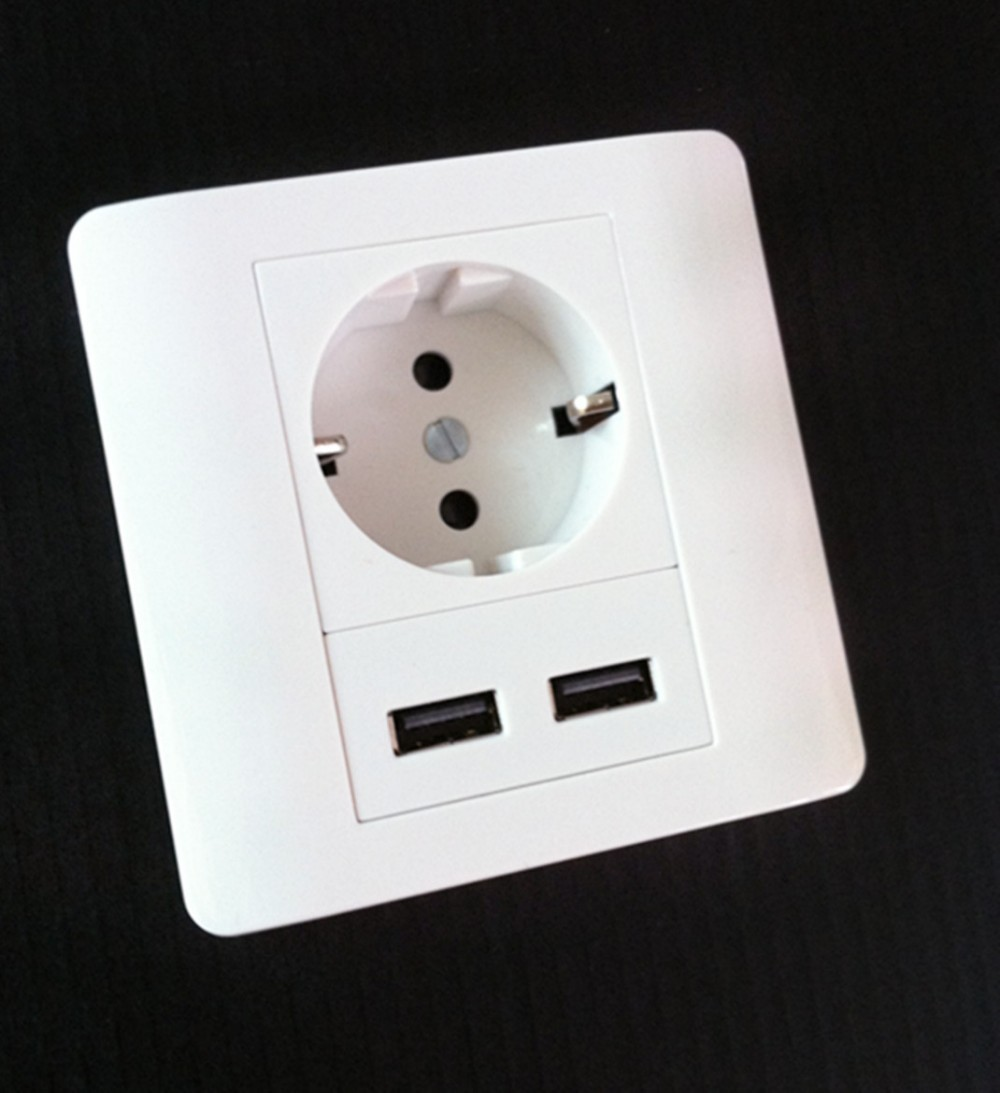 Interrupteur tactile 2100mAh Homekit Adaptateur de chargeur mural - Instruments de mesure - Photo 5