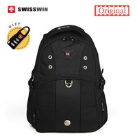 Swisswin Daily Backpack Men Small Casual Backpacks Male 20L 14 Laptop Backpack Orthopedic School Backpacks Sac