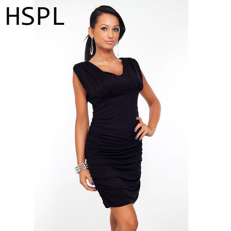 HSPL 2017 Women Summer Casual Sleeveless sheath  Dress O Neck Sexy Slim Casual Pencil Dress Mini Dresses