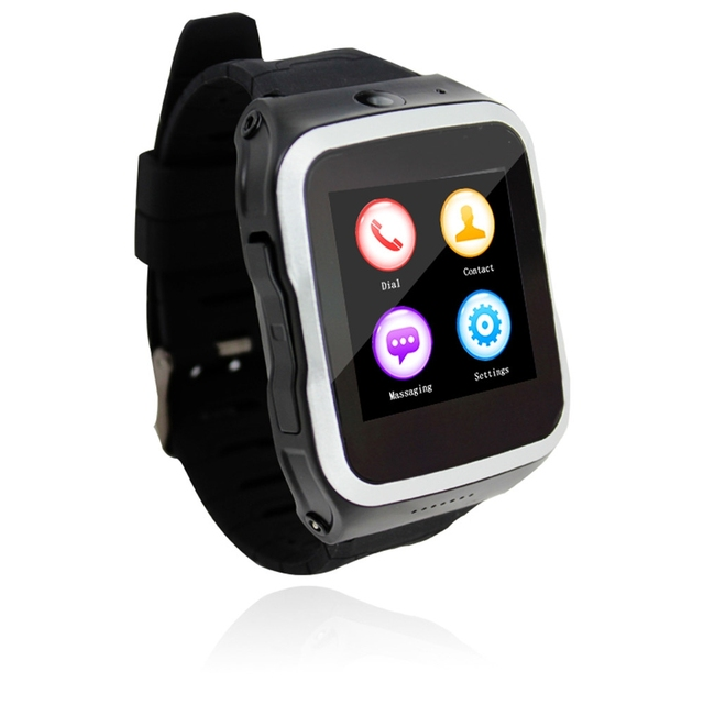 S83 ZGPAX Android 5.1 1.54 дюймов 3 Г Smart Watch Phone MTK6580 Quad Core 1.0 ГГц 512 МБ 8 Г ROM Шагомер Камера GPS Smartwatch