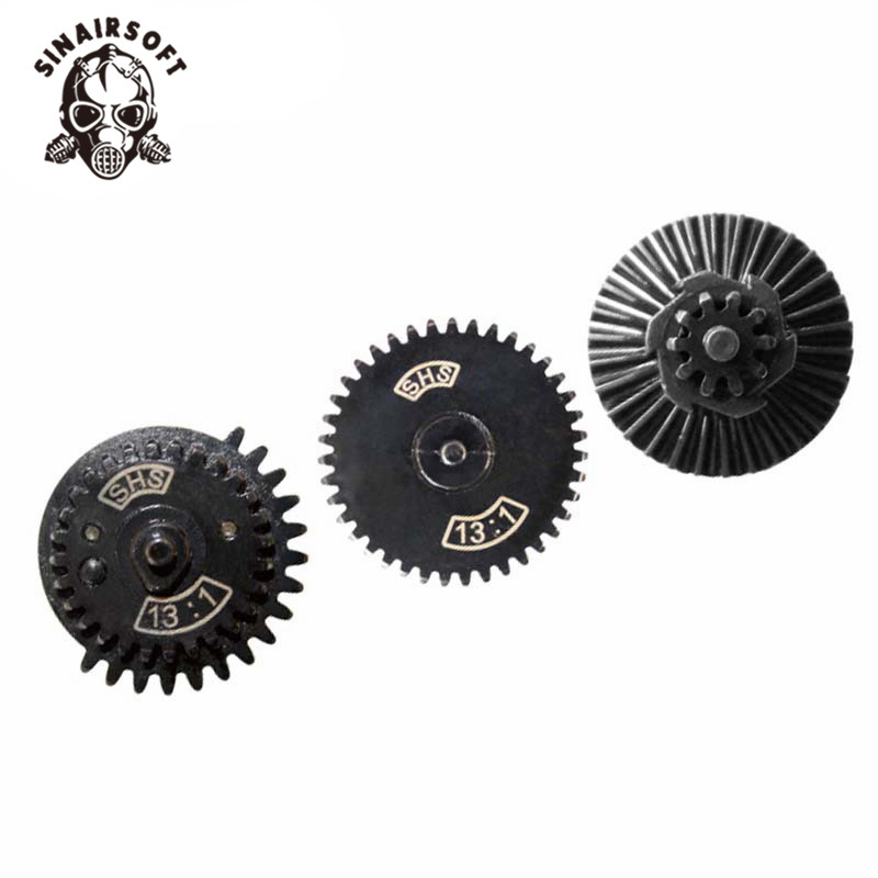SINAIRSOFT SHS 13:1 Ultra-high Speed Gear Set For Ver. 2/3 AEG Airsoft Gearbox Hunting Paintball Accessories