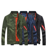 Cigna Men S Long Sleeve Jackets Fashion Casual Jacket Men Polyester Fabric Male Coats Thin Loose