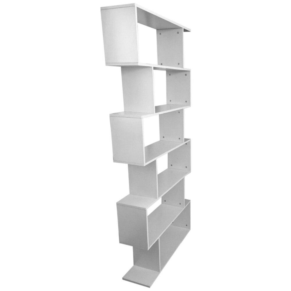 6 niveau tiers boek plank unit kubus opslag boekenkast display moderne home boekenplank stand rack in 6 niveau tiers boek plank unit kubus opslag boekenkast