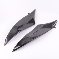 Wotefusi Carbon Fiber Under Tank Side Covers Panels Fairing For Yamaha YZF R6 2006 2007 [PA205]