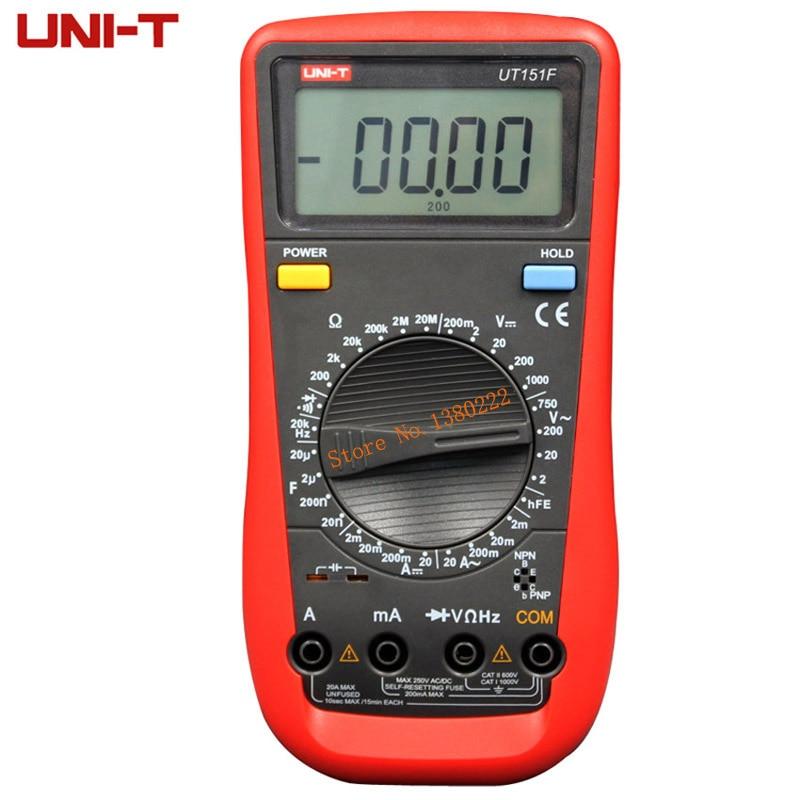 Digital Multimeter UNI-T UT151F   Professional Electrical Handheld Tester  LCR Meter Ammeter Multitester