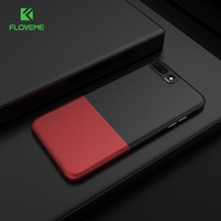 FLOVEME Cool Hit Color Case For IPhone 6 6s 7 Plus Splice 2 In 1 Hard