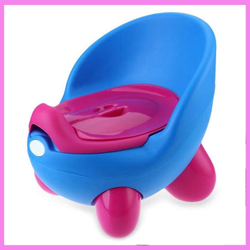 3 Colors Baby Cartoon Cute PP Pedestal Pan Nontoxic Training QQ Eggs Toilet Seat