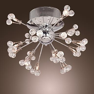 Современные светодиодные Кристалл Потолочные светильники для дома Освещение в гостиную кристалл потолочный светильник plafon люстры де cristal