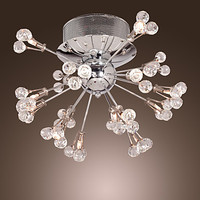 Modern LED Crystal Ceiling Light Fixtures For Home Lighting Living Room Lights Crystal Ceiling Lamp Plafon lustres De Cristal