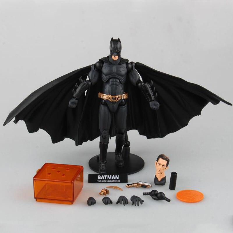ФОТО American Movie The Dark Knight Batman Action Figures Domineering PVC Collectible Model Toy 16CM BDFG6229