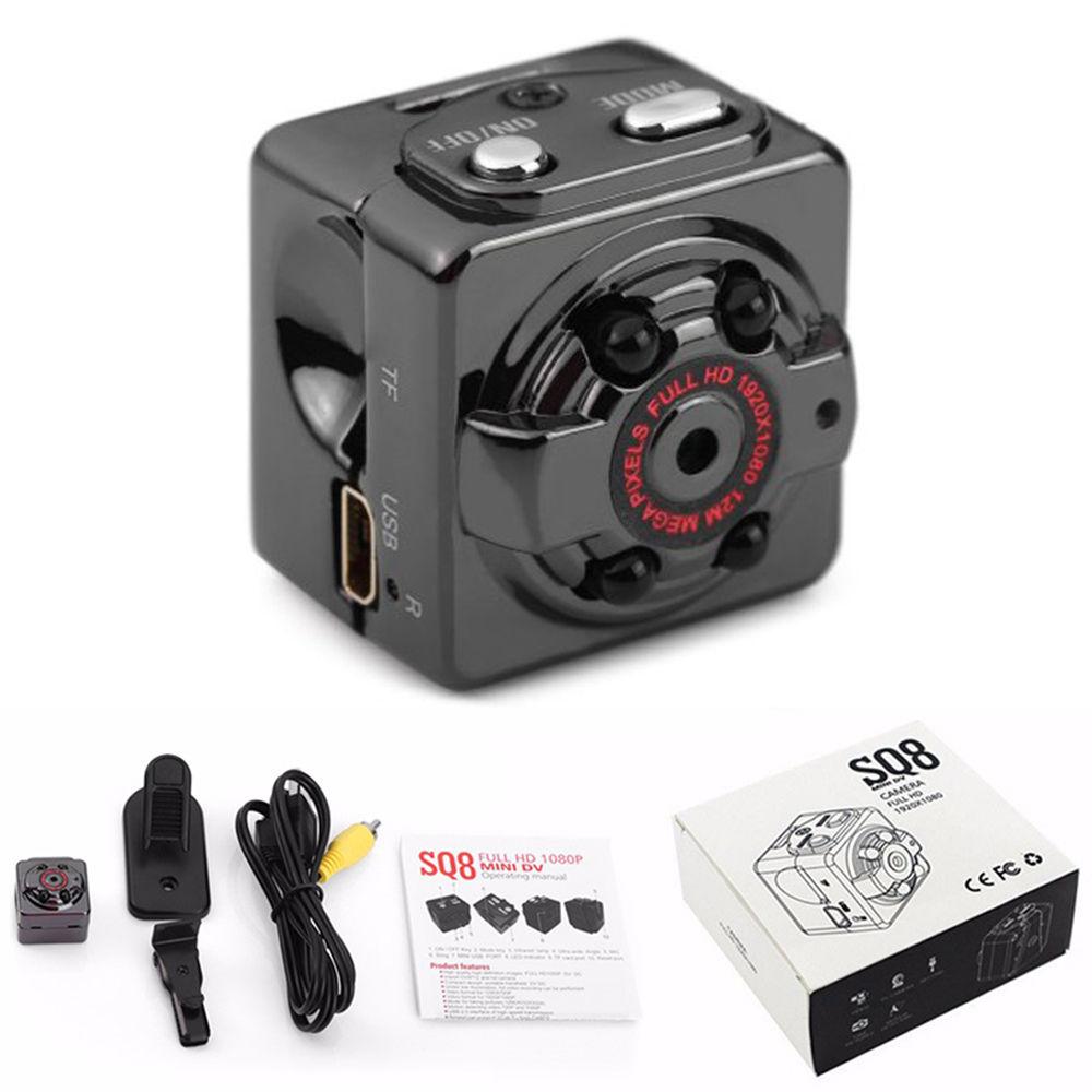 32G Card New SQ8 Mini DV Camera 1080P Full HD Car Sports font b Night b